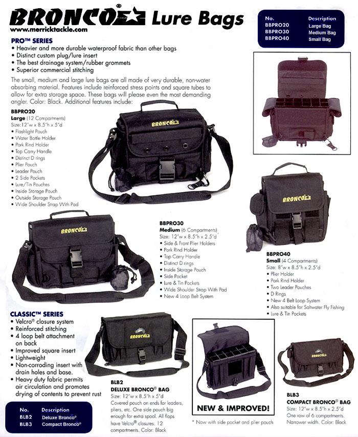 Bronco Lure Bags