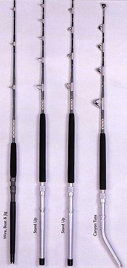 Bronco Commercial Series Rods