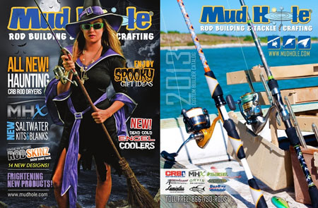 Mud Hole fishing tackle and rod building catalog