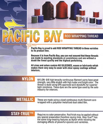 Pacific Bay Rod Wrapping Thread